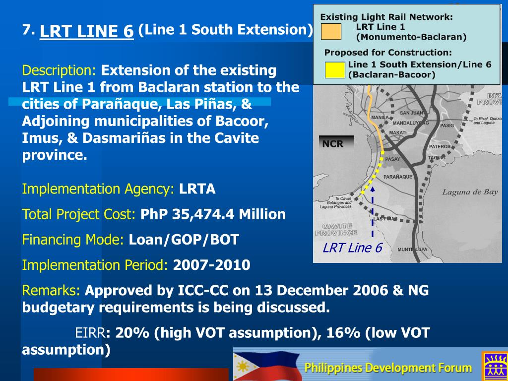Existing Light Rail Network: