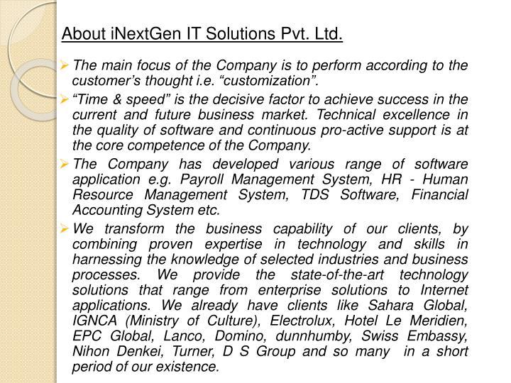About inextgen it solutions pvt ltd1
