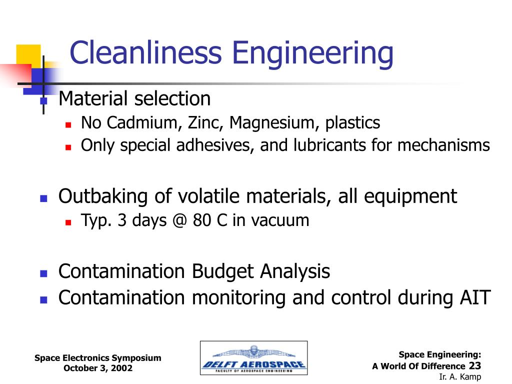 Cleanliness Engineering