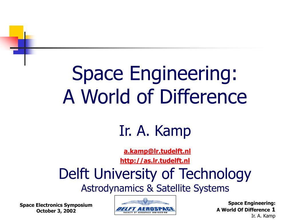 Space Engineering:
