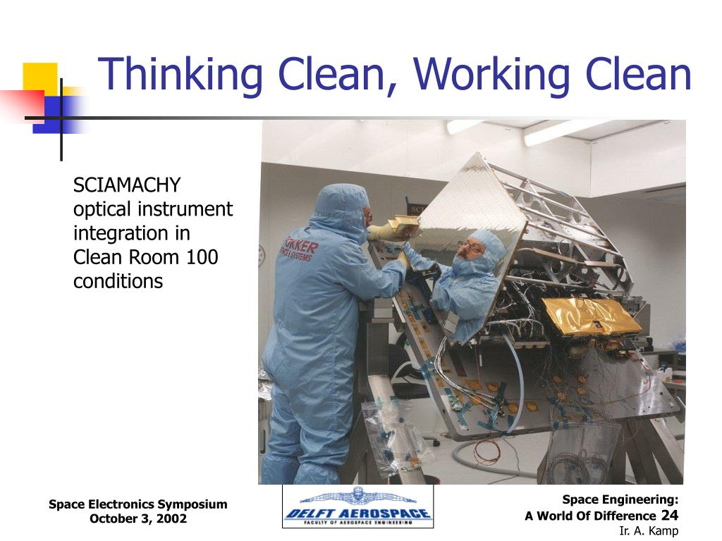Thinking Clean, Working Clean