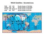 waas satellites geostationary