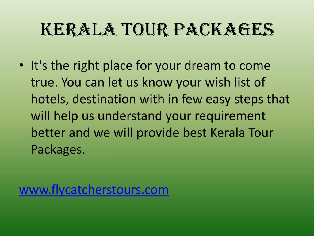 kerala tour packages l.