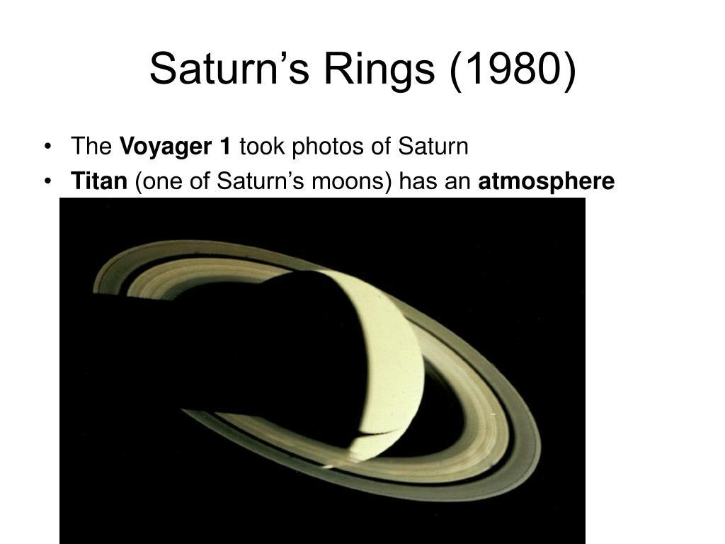 Saturn's Rings (1980)
