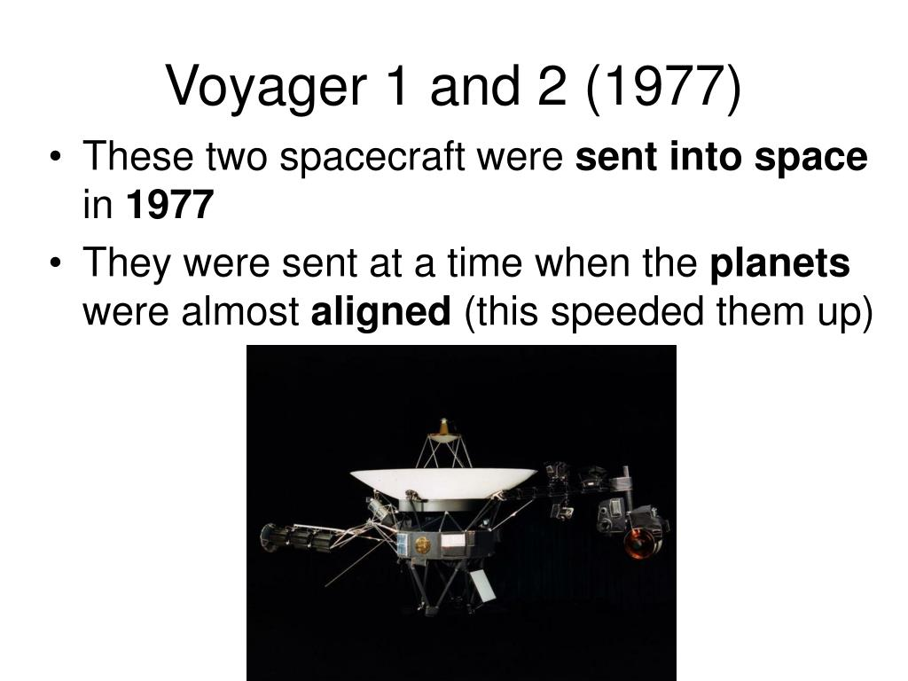 Voyager 1 and 2 (1977)
