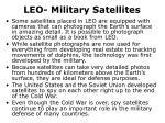 leo military satellites