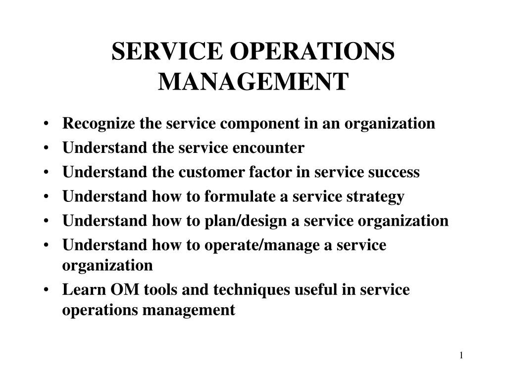 service encounter report The service encounter between an organisation′s employees and its customers, and the ensuing implications for service operations and management are important.
