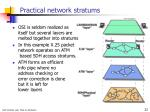 practical network stratums