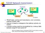 tcp ip network transmission