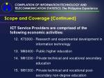 compilation of information technology and telecommunication statistics the philippine experience16