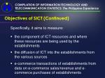 compilation of information technology and telecommunication statistics the philippine experience4