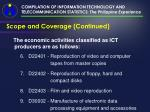 compilation of information technology and telecommunication statistics the philippine experience9
