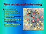 more on information processing8