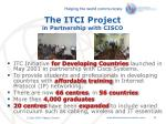 the itci project in partnership with cisco