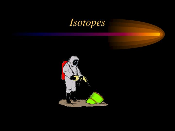 isotopes n.