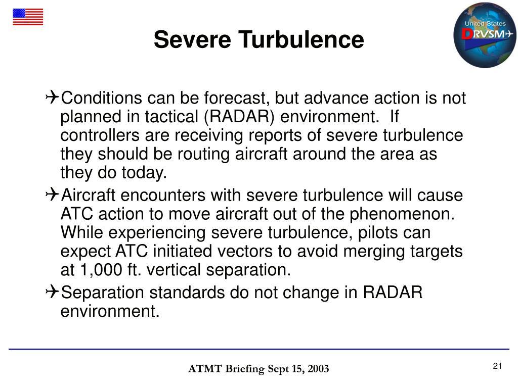 Severe Turbulence
