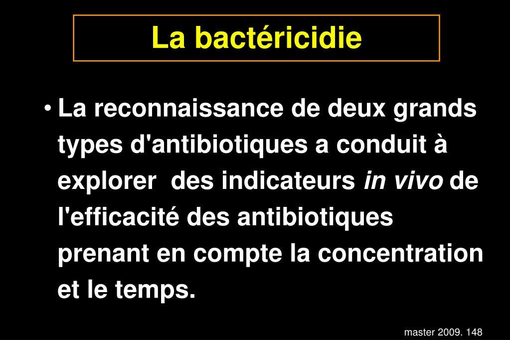 La bactéricidie