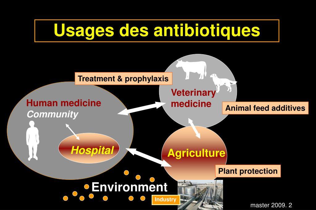 Usages des antibiotiques