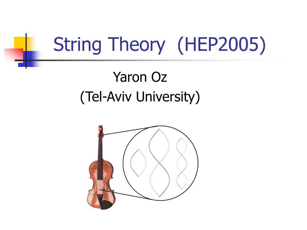 yaron oz tel aviv university l.