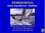 hydrostatics10