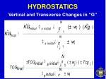 hydrostatics28