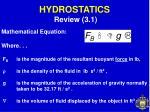 hydrostatics3