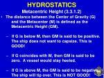 hydrostatics34