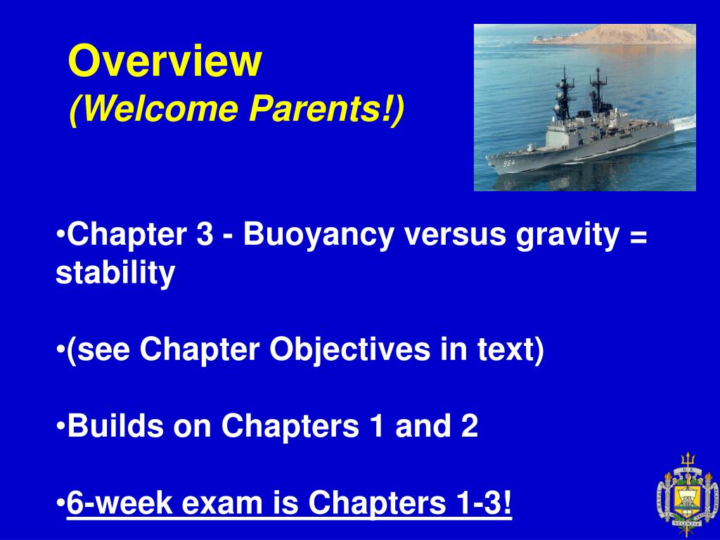 overview welcome parents l.