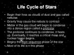 life cycle of stars11