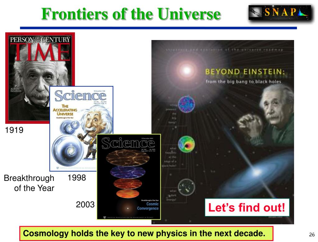 Frontiers of the Universe