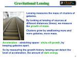 gravitational lensing22