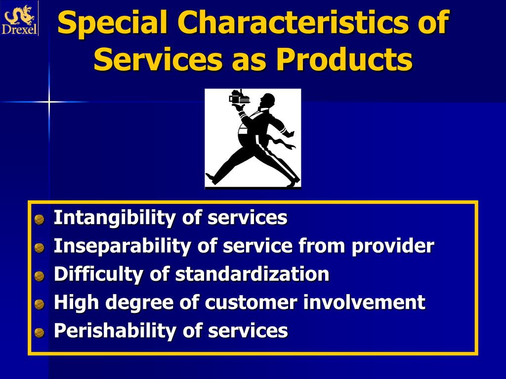 example of perishability and inseparability products services of hospitality