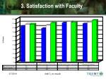 3 satisfaction with faculty
