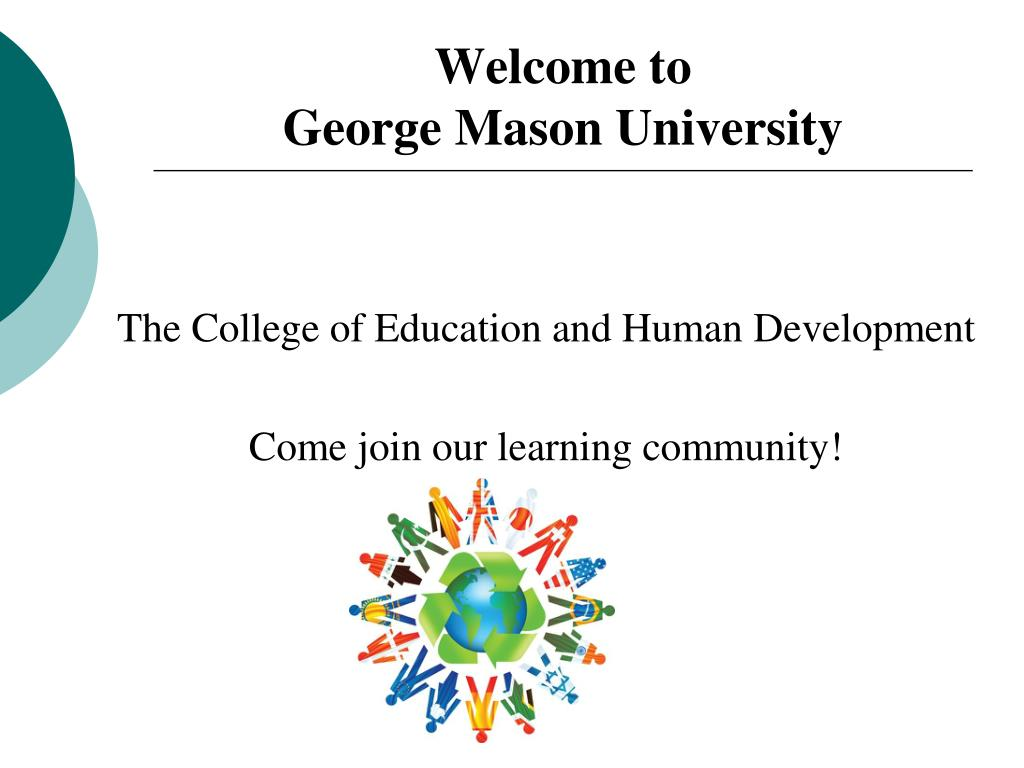 welcome to george mason university l.