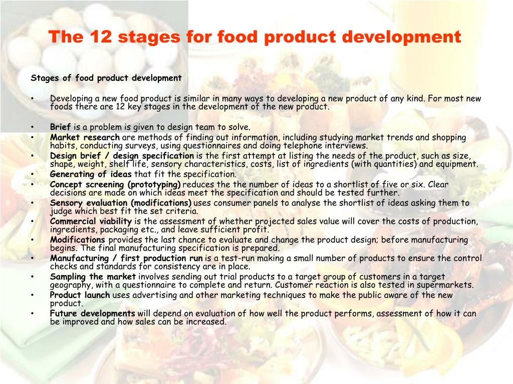 food product or ingredient development scientist essay All nutrition analysis is performed by professional food scientists with years of order one retail product kit and get each ingredient statement.