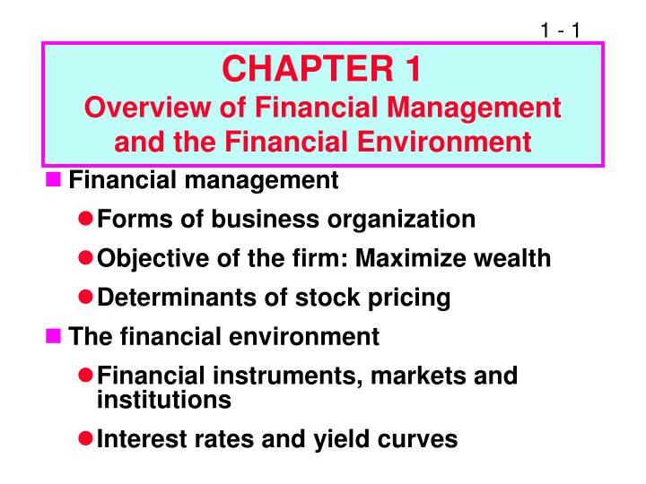 chapter 3 the environment and corporate