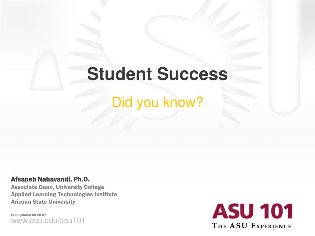 student success l.