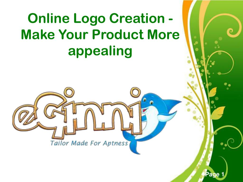 online logo creation make your product more appealing l.