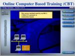 online computer based training cbt