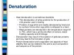denaturation17