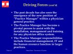 driving forces cont d32