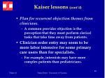 kaiser lessons cont d56