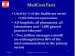 medcom facts