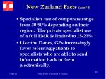 new zealand facts cont d