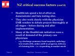 nz critical success factors cont d39