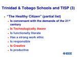 trinidad tobago schools and tisp 3