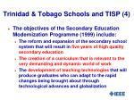 trinidad tobago schools and tisp 4
