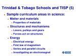 trinidad tobago schools and tisp 5