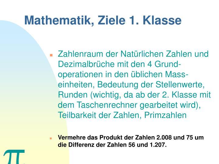 PPT - Das Fach Mathematik PowerPoint Presentation - ID:401141