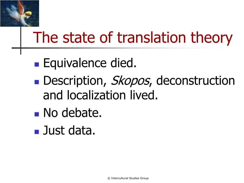 The state of translation theory